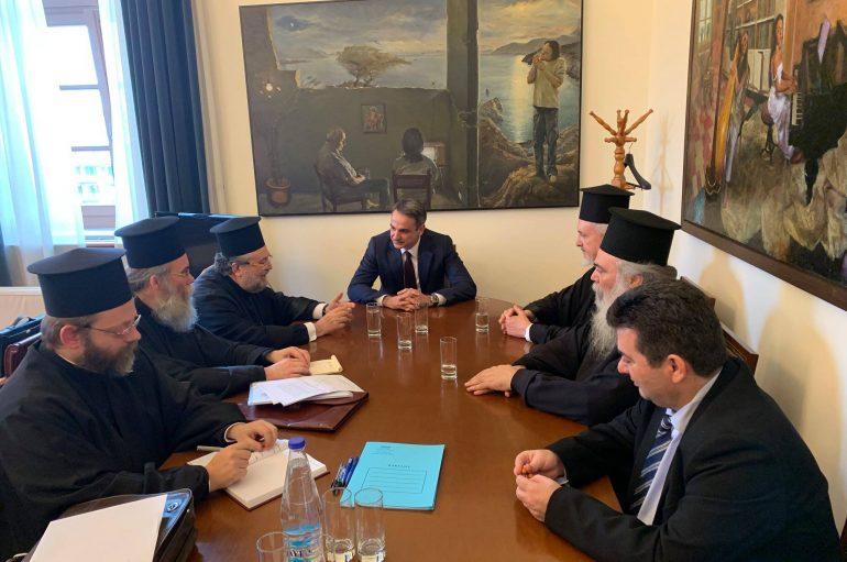 Συνεχίστηκαν οι συναντήσεις της Αντιπροσωπείας του Οικ. Πατριαρχείου στην Αθήνα