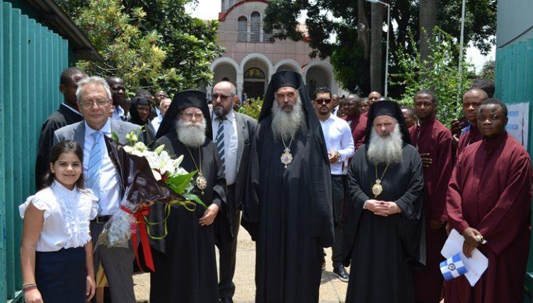 Ο Αλεξανδρινός Προκαθήμενος στην Ι. Μ. Κινσάσας