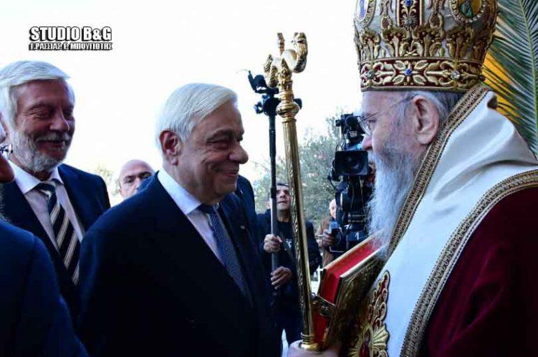 Παρουσία του ΠτΔ ο εορτασμός του Αγίου Αναστασίου, Πολιούχου Ναυπλίου