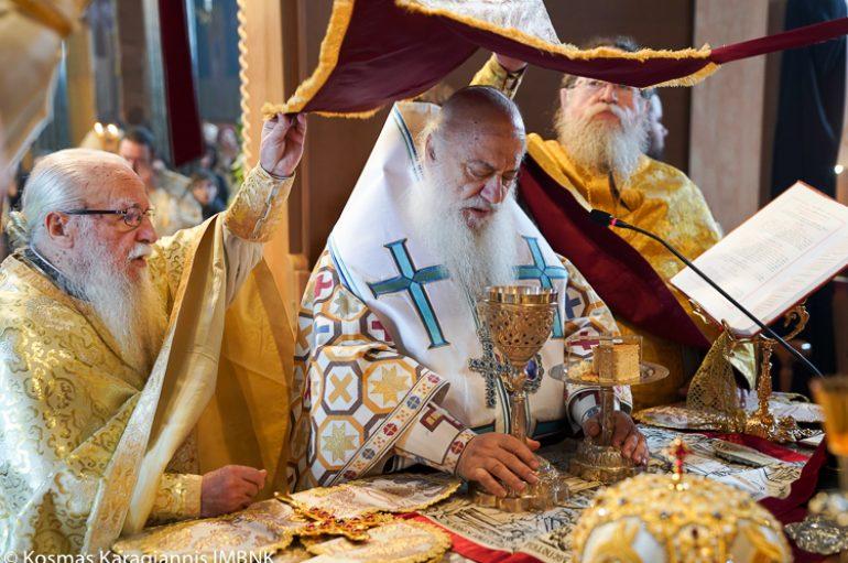 Η εορτή του Αγίου Πολυκάρπου στην Ι. Μητρόπολη Βεροίας