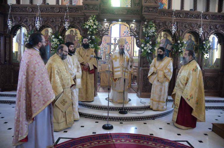 Αρχιερατική Θ. Λειτουργία στον Ι. Ναό Αγίας Μαρίνης Πατρών