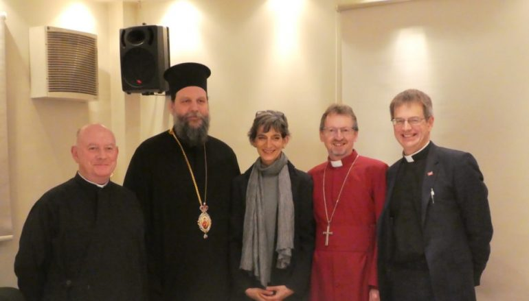 """Επίσκεψη Αγγλικανού Επισκόπου Ευρώπης στην """"ΑΠΟΣΤΟΛΗ"""""""