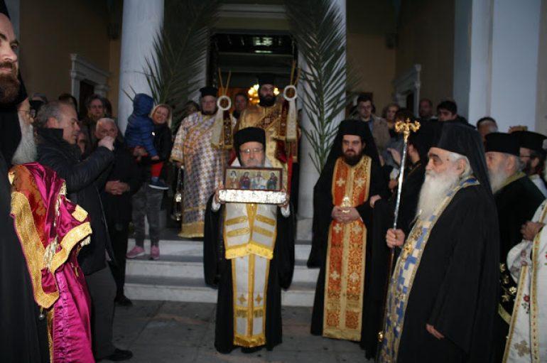 Το Αγρίνιο υποδέχθηκε την Δεξιά Χείρα του Αγίου Διονυσίου