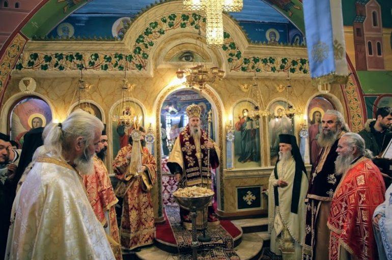 Η εορτή του Αγίου Βλασίου στην Ι. Μητρόπολη Ναυπάκτου