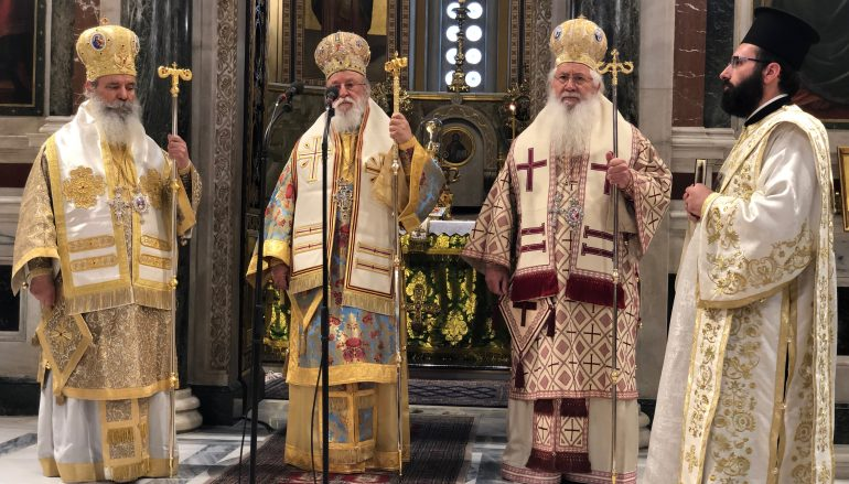 Σύναξη Ιεροσπουδαστών της Εκκλησιαστικής Σχολής Κορίνθου
