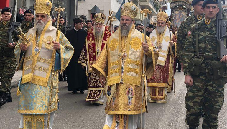 Ο Πύργος εόρτασε τον Πολιούχο του Άγιο Χαράλαμπο