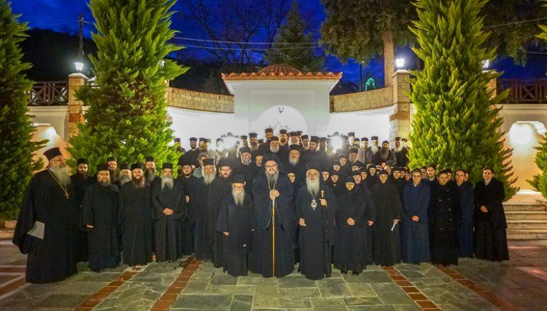 Σύναξη Μοναχών και Μοναζουσών της Ι. Μητροπόλεως Βεροίας