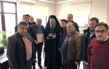 Το Δήμαρχο Κιλελέρ επισκέφθηκε ο Μητροπολίτης Λαρίσης