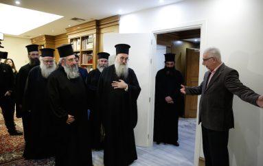 Αντιπροσωπείες της Εκκλησίας της Ελλάδος και του Οικ. Πατριαρχείου στον Υπ. Παιδείας