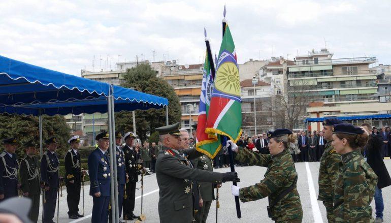 Ο Μητροπολίτης Λαρίσης στην αλλαγή Διοίκησης της 1ης Στρατιάς