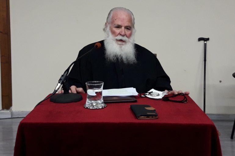Ο π. Γεώργιος Μεταλληνός ομιλητής στην Ι. Μ. Καλαβρύτων
