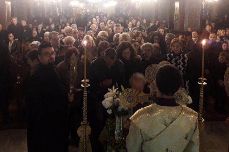 Η Κατερίνη υποδέχθηκε το Ι. Λείψανο του Οσίου Δαυίδ του εν Ευβοία