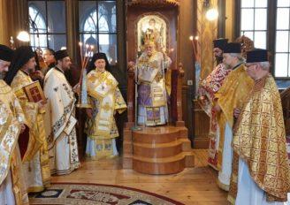 Ο Εσθονίας Στέφανος επισκέφθηκε την Ι. Μητρόπολη Σουηδίας