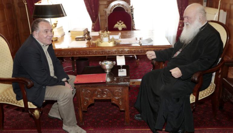 Συνάντηση Αρχιεπισκόπου με τον Γιάννη Μουζάλα
