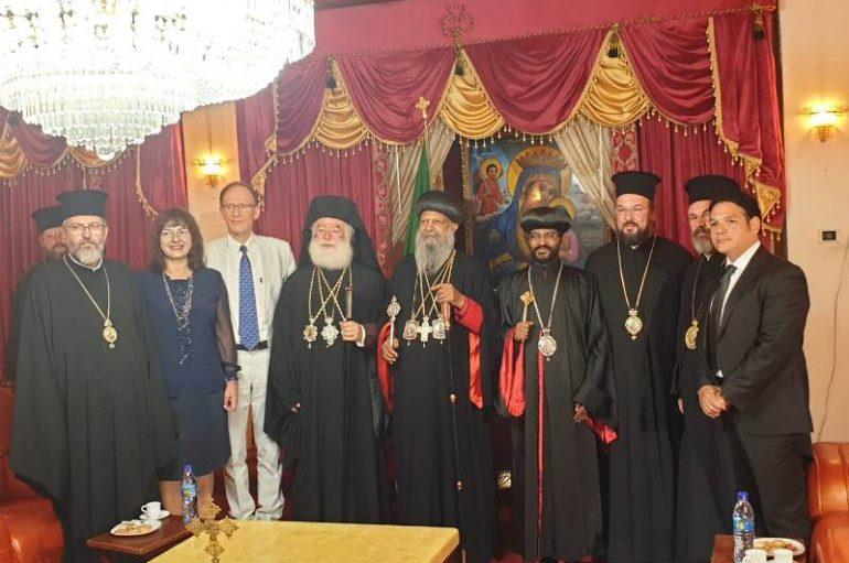 Άφιξη του Πατριάρχη Αλεξανδρείας στην Αιθιοπία