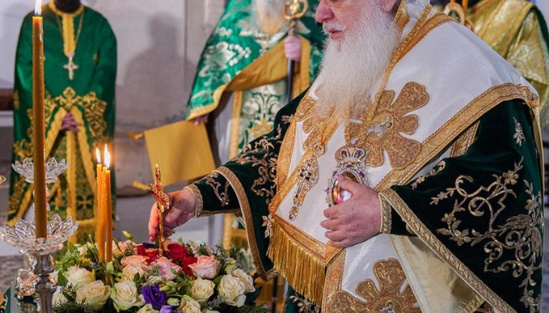 Κυριακή της Σταυροπροσκυνήσεως στον Παλαιό Μητροπολιτικό Ναό Βεροίας