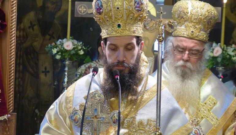 Η πρώτη Θεία Λειτουργία του Μητροπολίτη Σιατίστης Αθανασίου
