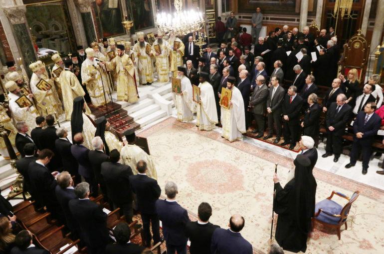 Ο εορτασμός της Κυριακής της Ορθοδοξίας στην Μητρόπολη Αθηνών
