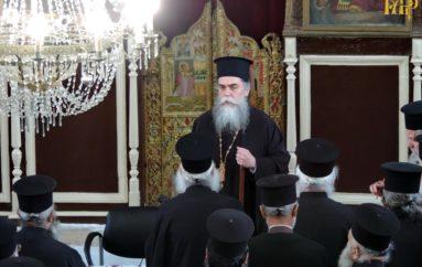 Ιερατική Σύναξη μηνός Μαρτίου στην Ι. Μητρόπολη Άρτης