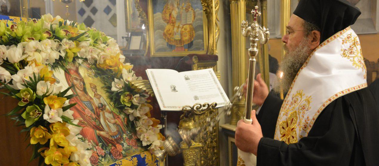 Στην Τρίπολη ο Μητροπολίτης Ιερισσού για τους Β΄Χαιρετισμούς