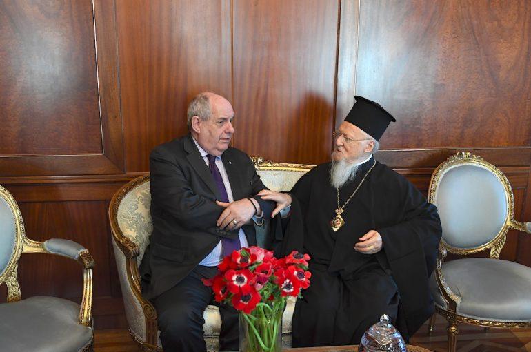 Επίσκεψη του ΥΦΥΠΕΞ της Ελλάδος στο Οικουμενικό Πατριαρχείο