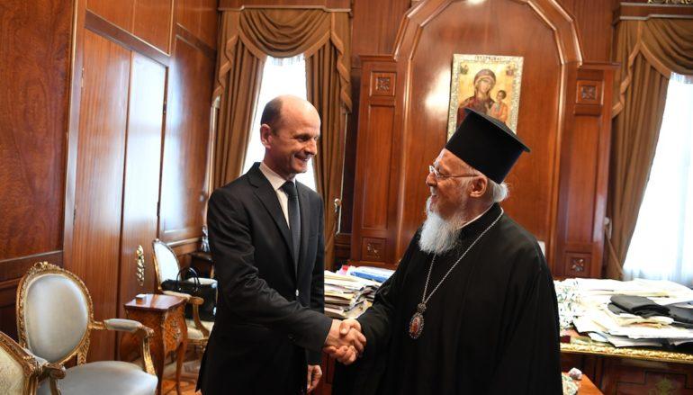 Ο Πρέσβης της Βορείου Μακεδονίας στο Οικ. Πατριαρχείο