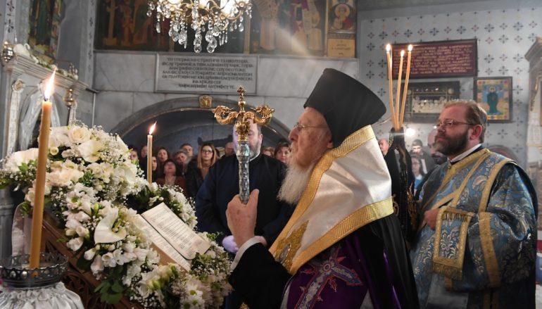 Η Γ΄ Στάση των Χαιρετισμών στον Ι. Ναό Παναγίας των Βλαχερνών
