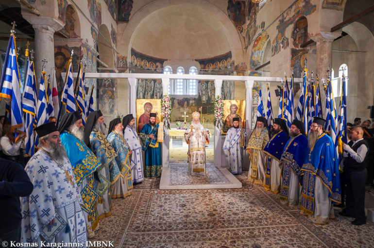 Ο εορτασμός του Ευαγγελισμού της Θεοτόκου στην Ι. Μ. Βεροίας