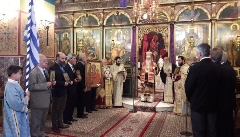 Κυριακή της Ορθοδοξίας στην Ι. Μητρόπολη Καλαβρύτων