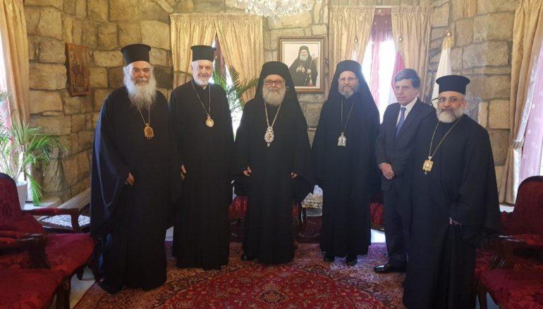 Αντιπροσωπεία του Οικ. Πατριαρχείου στο Πατριαρχείο Αντιοχείας