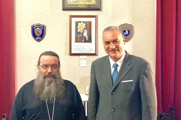 Στο Μητροπολίτη Χίου ο Ευρωβουλευτής Εμμ. Κεφαλογιάννης