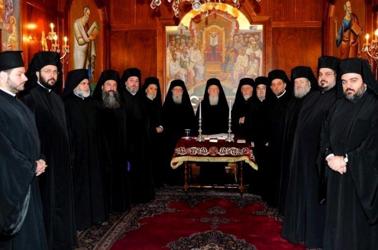 Η νέα σύνθεση της Αγίας και Ιεράς Συνόδου του Οικ. Πατριαρχείου