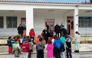 Επισκέψεις του Μητροπολίτη Μάνης σε σχολεία