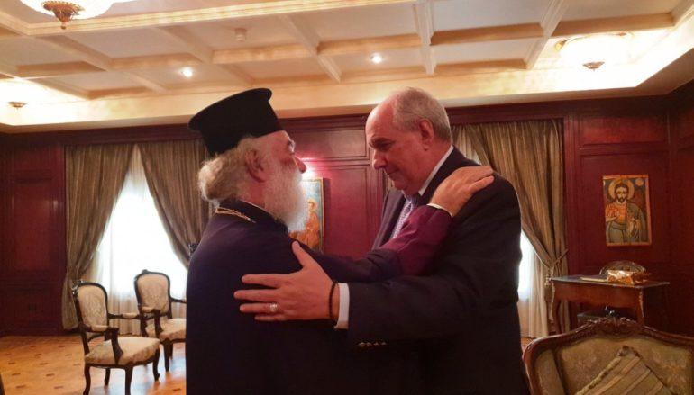 Ευχαριστίες του ΥΦΥΠΕΞ προς τον Πατριάρχη Αλεξανδρείας