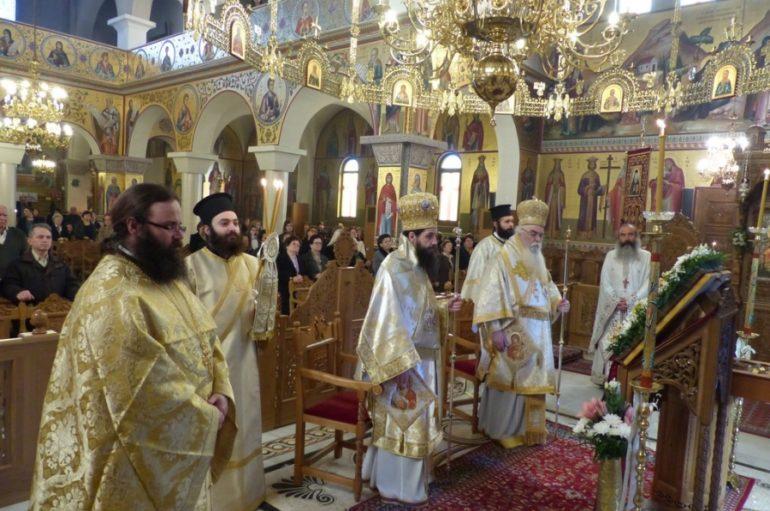 Εορτή του Αγίου Σάββα του εν Καλύμνω στο Άργος Ορεστικό