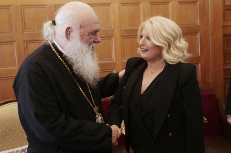 Εθιμοτυπικές επισκέψεις στον Αρχιεπίσκοπο Ιερώνυμο