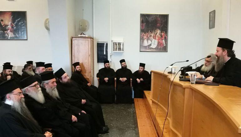 Ο Αρχιμ. Επιφάνιος Οικονόμου ομιλητής στην Ι. Μ. Εδέσσης