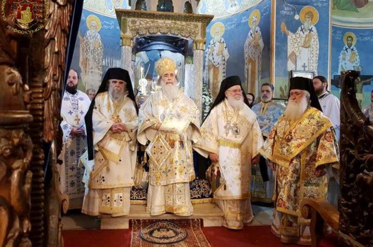 Η εορτή του Ευαγγελισμού στο Πατριαρχείο Ιεροσολύμων