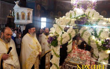 Αποκαθήλωση στον Ι. Ναό Αγίας Βαρβάρας Τρίπολης