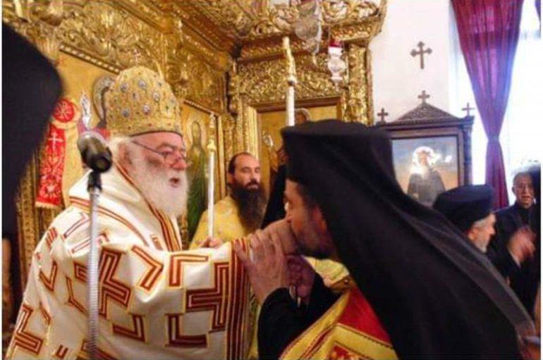 Ενθρόνιση νέου Εξάρχου στην Κύπρο από τον Αλεξανδρινό Προκαθήμενο