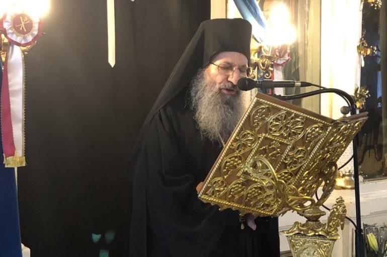 Ο Καθηγούμενος της Ι. Μ.  Σίμωνος Πέτρας ομιλητής  στην Ι. Μ. Κυδωνίας