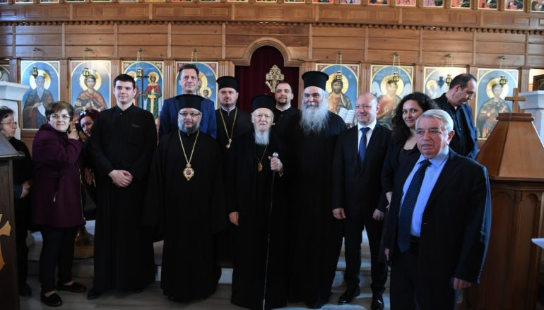 Ο Οικ. Πατριάρχης στην Αδριανούπολη για την Δ' Στάση των Χαιρετισμών