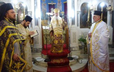 Δ΄ Κυριακή των Νηστειών στην Ι. Μητρόπολη Κορίνθου
