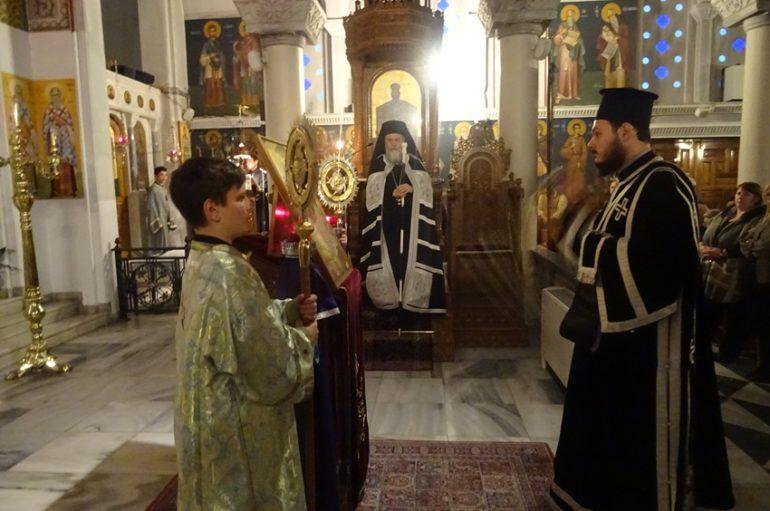 Μεγάλη Τρίτη στην Ιερά Μητρόπολη Κορίνθου