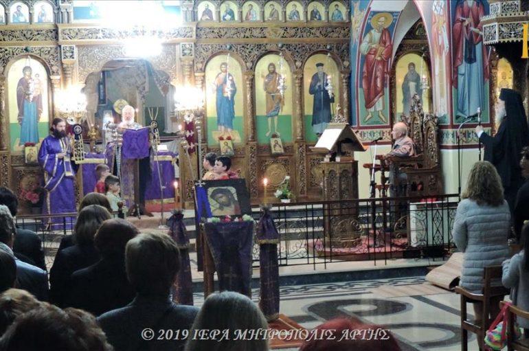 Μεγάλη Δευτέρα εσπέρας στην ενορία Αγίου Γεωργίου Κομποτίου Άρτης