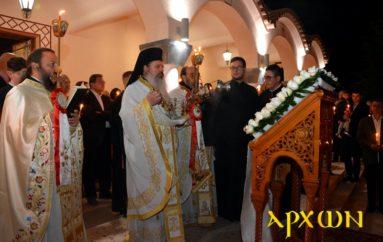 Η τελετή της Αναστάσεως στον Ι. Ναό Αγίας Βαρβάρας Τρίπολης