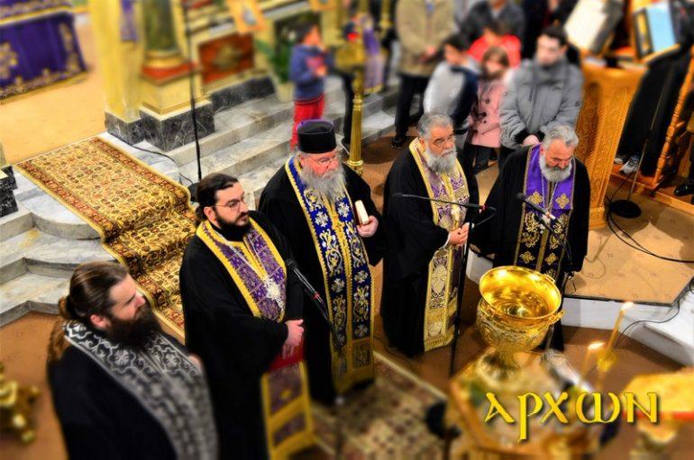 Η Ακολουθία του Μ. Κανόνος στον Ι. Ναό Προφήτου Ηλιού Τρίπολης