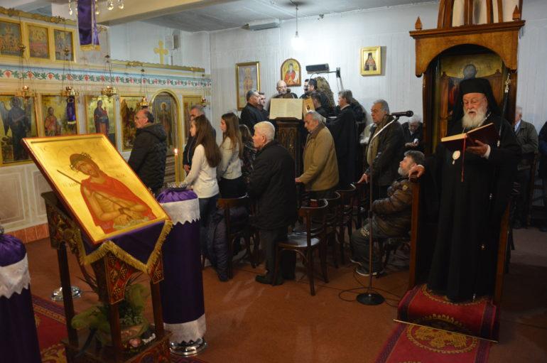 Η Ακολουθία του Νυμφίου στον Ι. Ναό Αγίου Τρύφωνος Τρίπολης