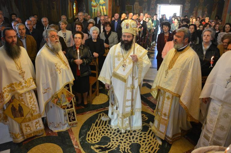 Ο εορτασμός των Αγ. Ραφαήλ, Νικολάου και Ειρήνης στην Τρίπολη