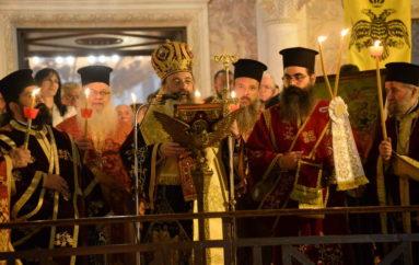 Μεγαλειώδης και λαμπρά η εορτή του Πάσχα στην Πάτρα